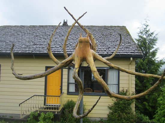 West Coast Motel on the Harbour: Octopus