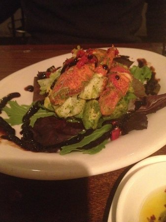 Braai : avocado and rock lobster salad-- must order!