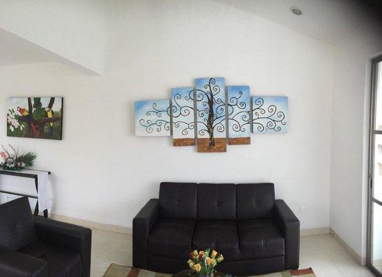 Arte en Hotel Plaza Playa, en Playa del Carmen