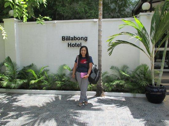 Billabong Hostel: Me