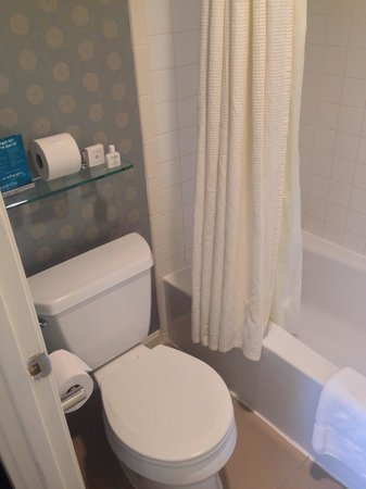 Kimpton Hotel Madera : Tub and toilet