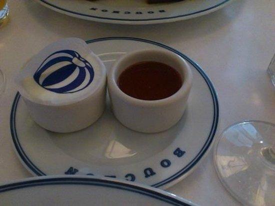 Bouchon : バターとメイプルシロップ