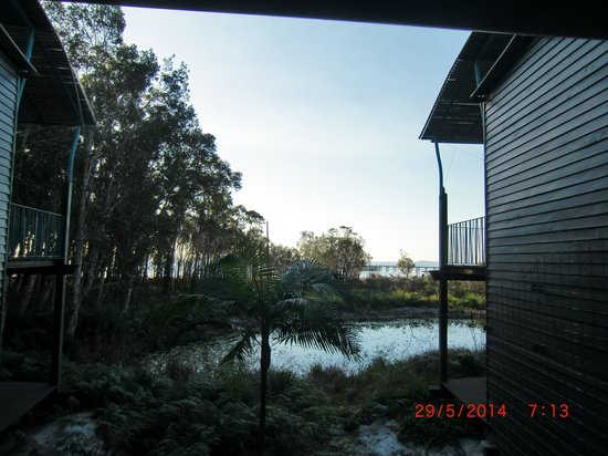 Kingfisher Bay Resort: An Actual Room with a View