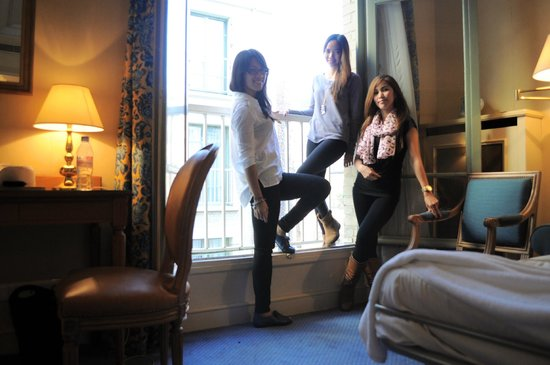 Hotel Le Littre: last day in Paris with girlfriends
