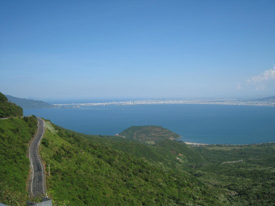 Vietnam Easy Rider: View from top of the US military bunker