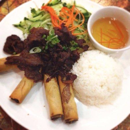 Vi La Palace Vietnamese Restaurant : #28 with Rice
