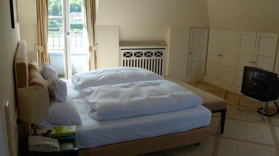 Rheinhotel Schulz : Zimmer mit Rheinblick