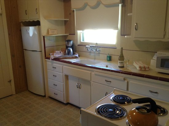 Hideaway Cottages: Kitchen