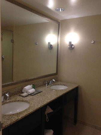 Hilton St. Louis Frontenac: Bathroom