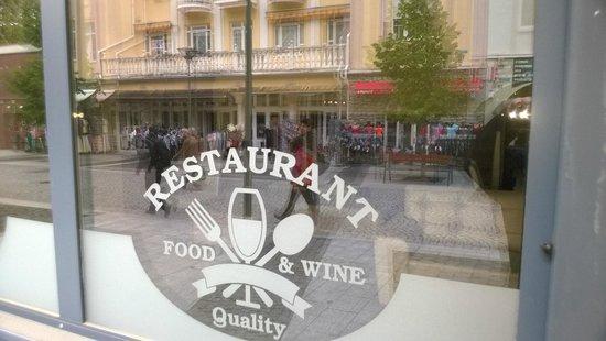 Hunguest Hotel Mirage : Закрытый ресторан