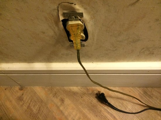Hollywood Hotel: Dangerous plugs?