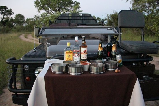 Lion Sands River Lodge: Sundowner