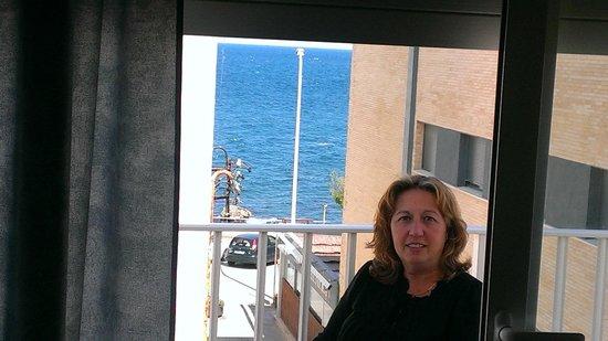 Hotel Bonaire : Ela terraza