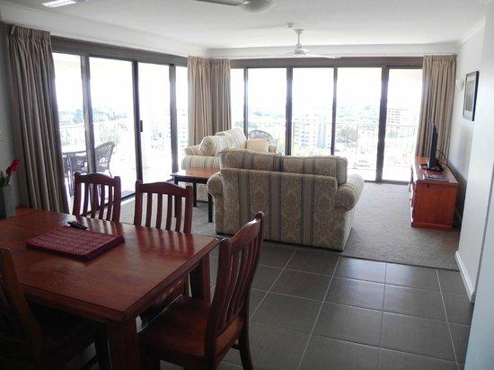 Marrakai Luxury All Suites Darwin : Our living room