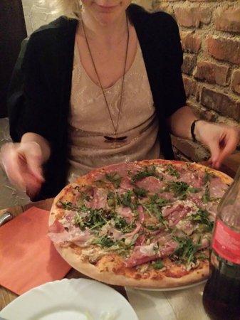 Jernkallaren : Pizzan!