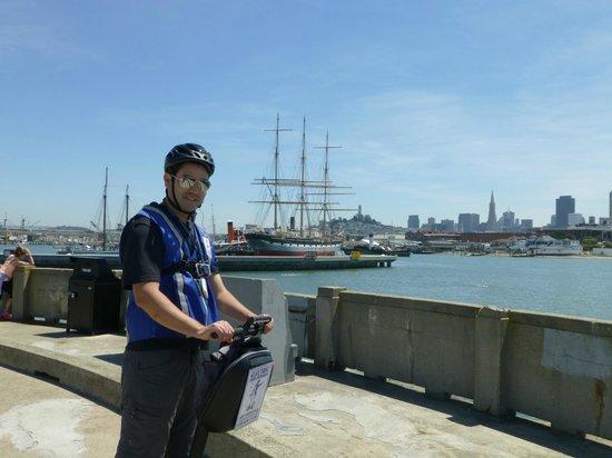 Electric Tour Company Segway Tours : Municipal Pier in SF