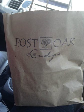 POSTOAK Lodge & Retreat: Breakfast to Go
