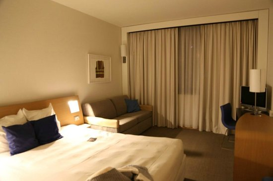Novotel Genova City : our room