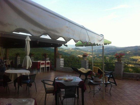La Terrazza Picture Of Il Belvedere La Terrazza Di Nazzano