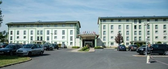 Parkhotel Plzen: Вид на отель