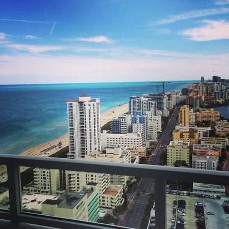 Fontainebleau Miami Beach: View from my suite at the Tresor Tower