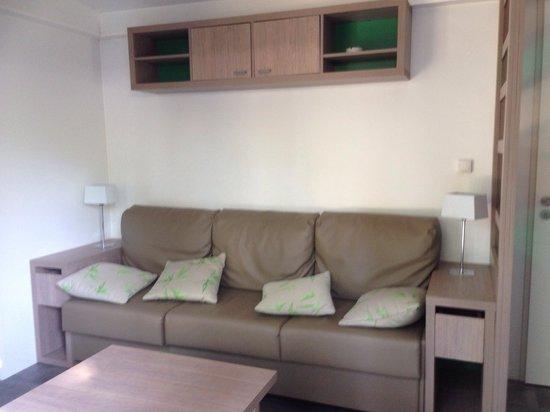Camping La Sirene: Lounge area