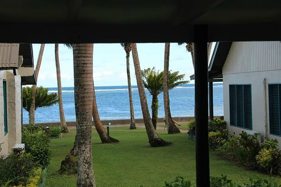 Fiji Hideaway Resort & Spa: The view from our bure out to sea