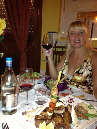 Casa Rossa: прекрасный ужин в отличном ресторане!