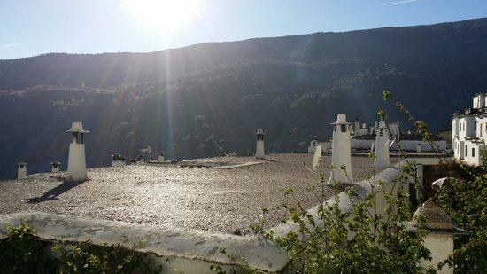 Finca los Llanos: view from hotel room
