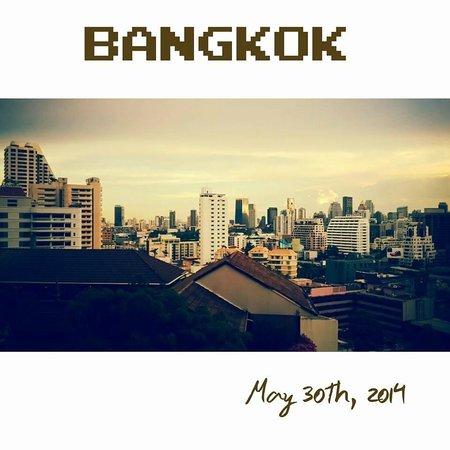 Landmark Bangkok: Beautiful view from the room...