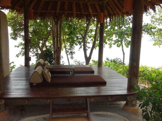 The Naka Island, A Luxury Collection Resort & Spa Phuket : Gazibo in the Villa