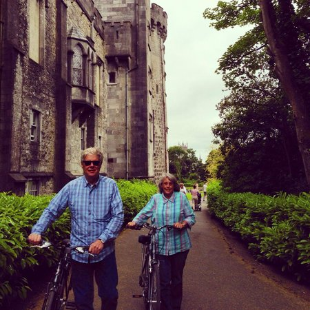 Kilkenny Cycling Tours: By the castle.