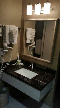 Imperial Hotel & Suites: Separate sink area