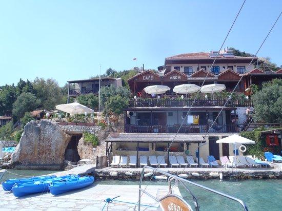 Kalekoy Harbour: Cafe Ankh