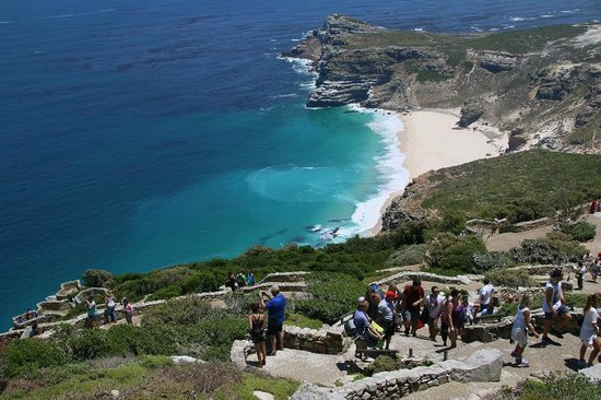 Cape of Good Hope from the top of Cape Point