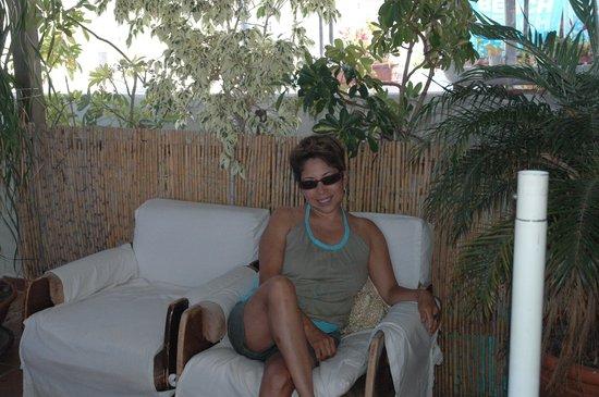 Hostal Don Peque: En la terraza !!!