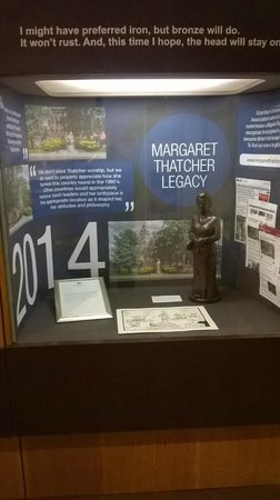 Grantham Museum: MT display