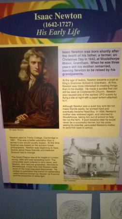 Grantham Museum: Isaac Newton information