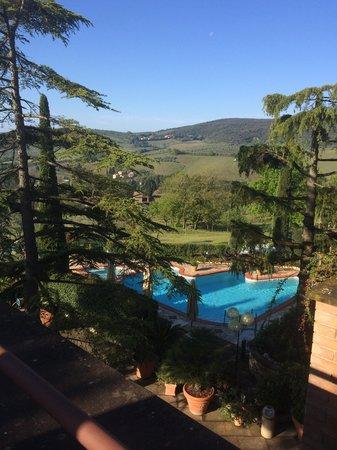 Relais Santa Chiara Hotel: vista dalla terrazza della camera