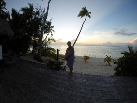 Tamanu Beach: Sunsets from your doorstep