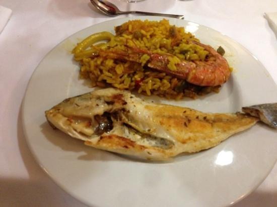 Port Ciutadella: selection du buffet