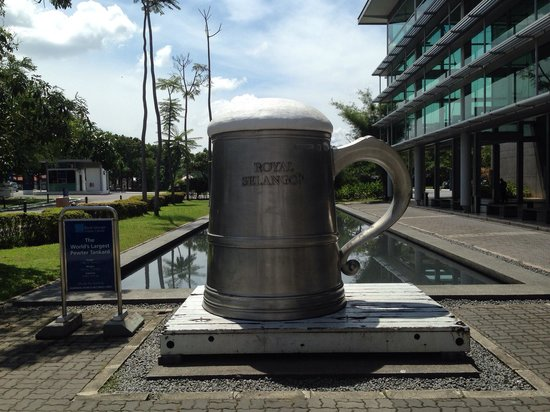 Royal Selangor Visitor Centre: A mug shot *boom tish!*