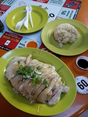 Tian Tian Hainanese Chicken Rice