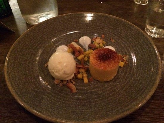 The Chequers: great dessert