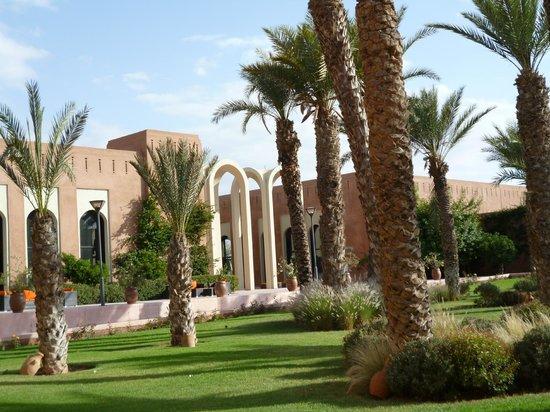Kenzi Club Agdal Medina : L'entrée de l'hotel