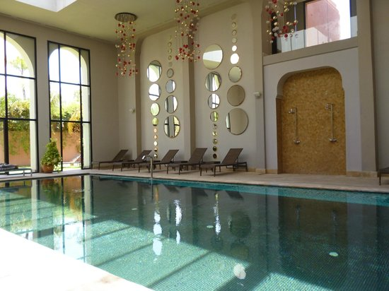 Kenzi Club Agdal Medina : La piscine du spa