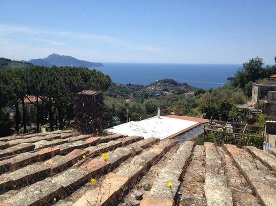 Freedom Holiday Residence: Panorama dal terrazzo... CAPRI!