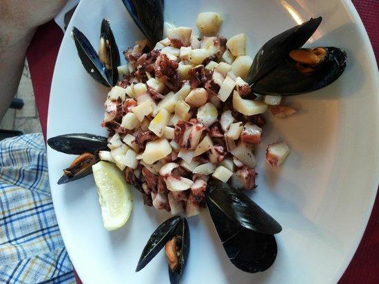 Fratelli Micheli: insalata di mare