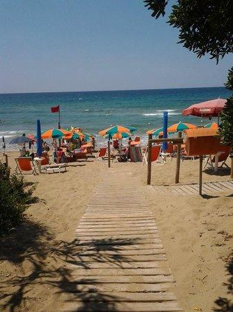 Hotel Paradiso Residence: Fantastica spiaggia!