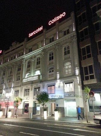 Sercotel Coliseo: Hotel facade